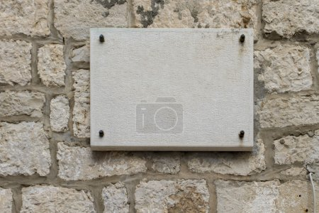 Photo for View at the empty street sign - Royalty Free Image