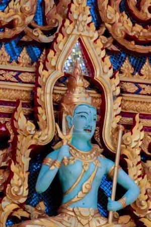 Photo pour Détail du temple Wat Chalong en Thaïlande - image libre de droit