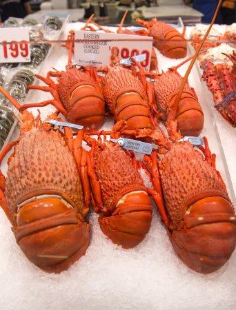 Lobster on the Sydney Fish Market.