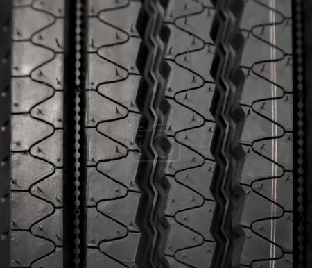 Photo for Closeup view at the car tyre - Royalty Free Image