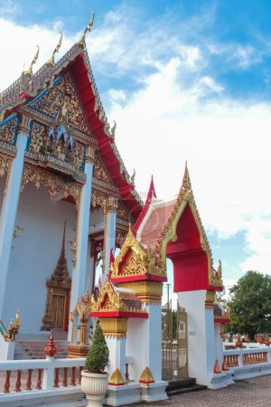 Wat Chalong temple in Thailand