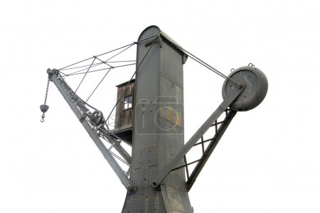One shipyard crane