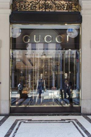 Gucci shop view