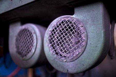 Detail of industrial machines