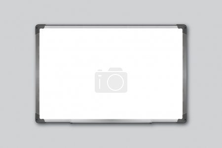 Photo for Detail of white board close up - Royalty Free Image