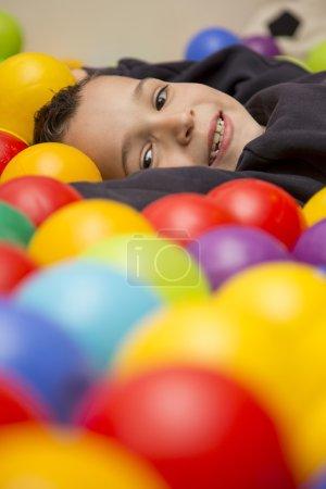 Little boy at playground