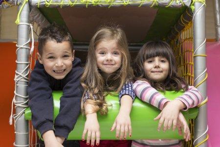 Cute children at playground