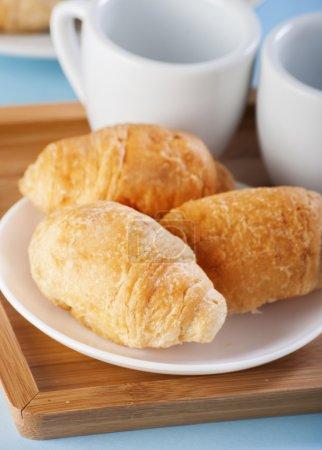 croissant close up