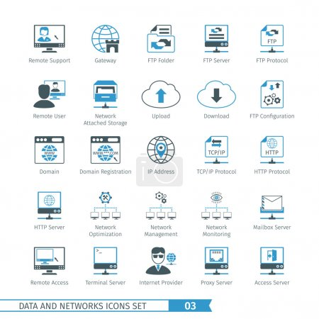 Networks Icon Set 03