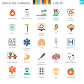 Medical Colorful Icons Set 02