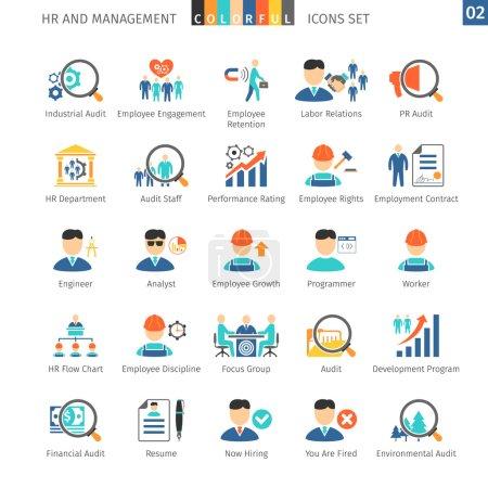 Human Resources Flat Set 02