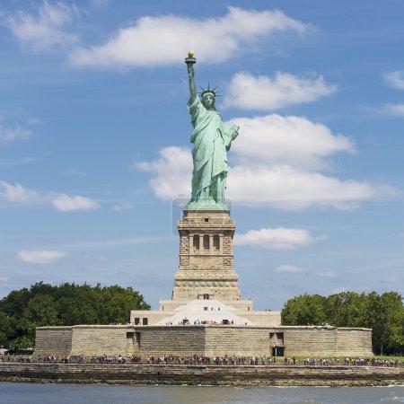 Photo pour Statue de la Liberté, Liberty Island, New York . - image libre de droit