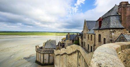 Part of Mont-Saint-Michel