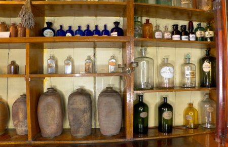 This pharmacy museum in 1730 Trademarks are very o...