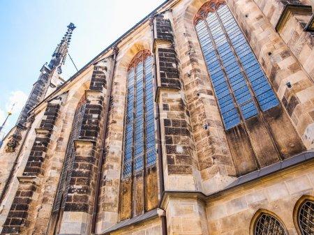 Thomaskirche Leipzig HDR