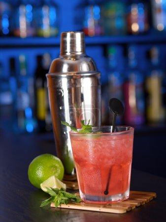Mai Tai in bar