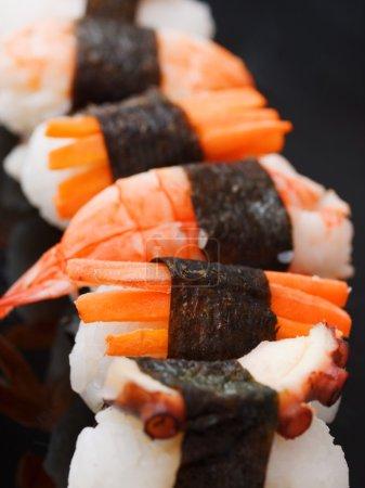 Nigiri Sushi rolls