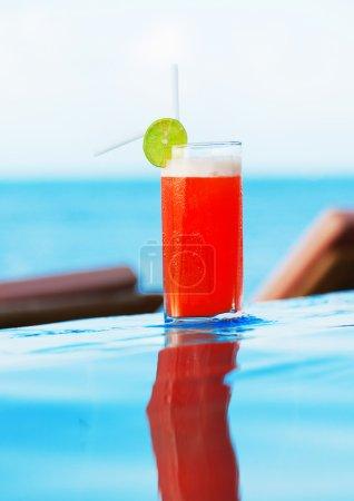 Mai Thai Cocktail at  pool