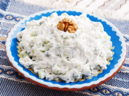 Tzatziki greek salad