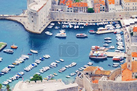Walls of Dubrovnik Fortress