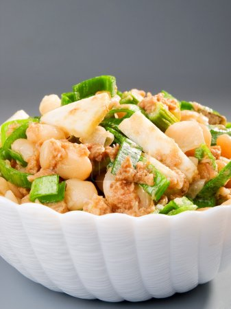 Beans Salad with onion