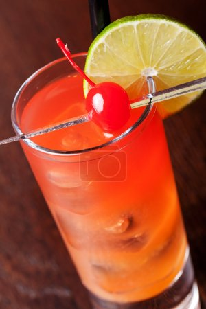 Photo for Cocktails Collection - Cranberry Cooler - Royalty Free Image