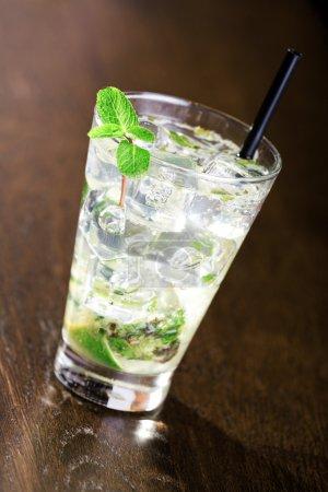 Mojito Cocktail in glass