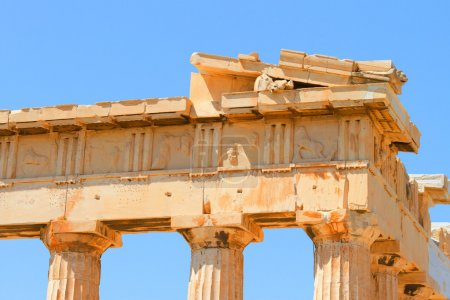 Photo for The Doric temple Parthenon at Acropolis hill. Athens, Greece. - Royalty Free Image