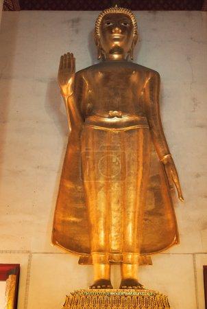 Statue de Bouddha au Wat Saket