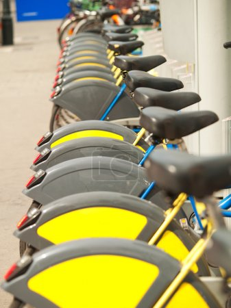 Bicycles for rent in Vienna