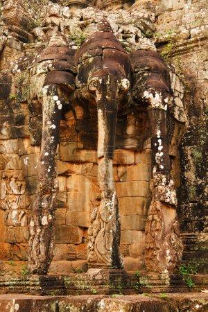 Terraza de elefantes, Ankgor Thom