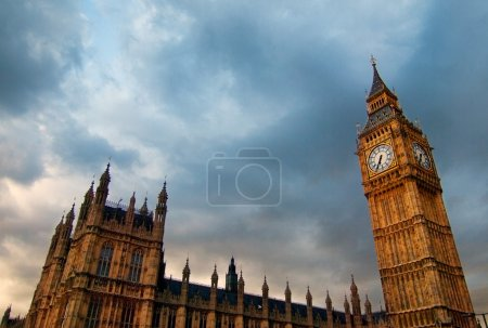 Photo for Close up of Big Ben in London - Royalty Free Image