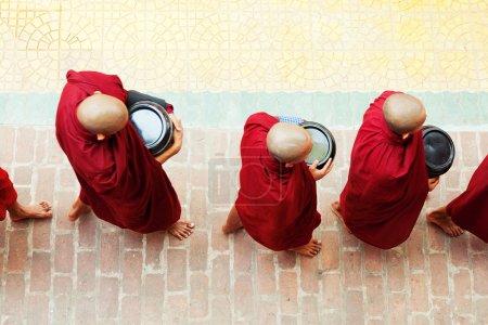 Monks from Mahagandayone monastery