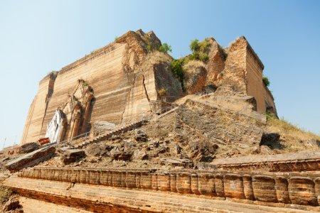 Unfinished pagoda in Mingun, Myanmar