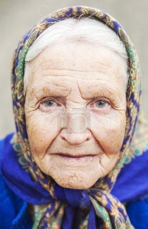 Mature  woman close up