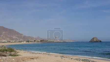 The coast of Indian ocean in Fujeirah,UAE