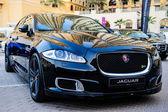 Nové automobily prezentace na každoroční akce Meconti automobilový průmysl show. 26. listopadu 2014 v Dubaj, Spojené arabské emiráty