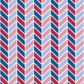 Patriotic Chevron Pattern
