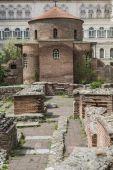 Sofie, Bulharsko - 14. dubna: Kostel svatého Jiří je ranní