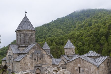 The ancient Haghartsin monastery is located near the town of Dil
