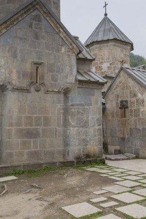 The 13th century Haghartsin monastery in Armenia.The ancient mon