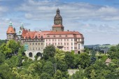 WALBRZYCH, POLAND - JULY 07, 2016: Castle Ksiaz in Walbrzych, in