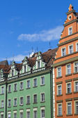 WROCLAW, POLAND - JULY 07, 2016:Architecture of the Market squar
