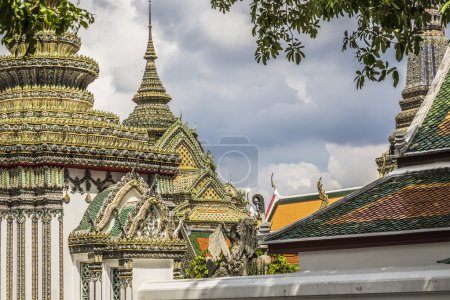 Roof in Grand Palace, Bangkok, Thailand.