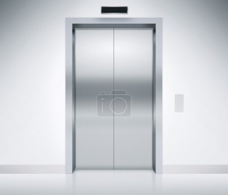 Elevator Doors Closed