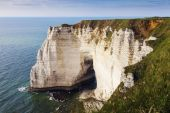 Natural Cliffs in Etretat