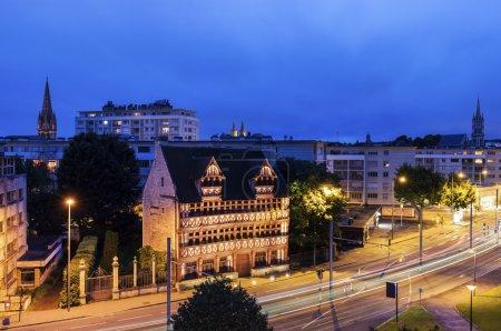 Panorama of Caen