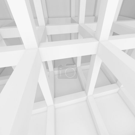 Photo pour 3d Rendre des blocs de construction abstraits - image libre de droit