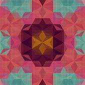 Vector Abstract Modern Psychedelic Pattern
