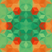 Colorful Triangle Pattern Vector Background